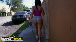Bangbros – Rose Monroe Sucks Dick in Public, Gets Her Huge Ass Fucked at House